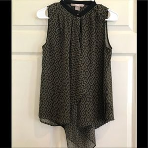 FOREVER 21 blouse with draping fabric
